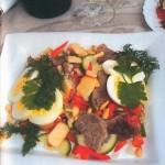 salat pikantnyi 150x150 Салат Пикантный с говядиной и грибами