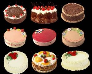 Krasivyie tortyi i pirozhnyie 300x243 Красивые торты и пирожные