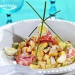salat iz ananasa s krevetkami 150x150 Особенный салат из ананасов с креветками