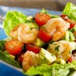 salat s avokado i krevetkami 150x150 Салат из креветок и авокадо