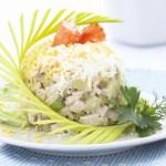 salat stolichnyi s kuricei i krabom 150x150 Салат столичный с курицей и мясом крабов