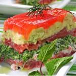 tomatnyi salat 150x150 Слоёный томатный салатик