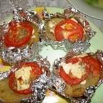 Kartofel pechennyiy v folge 150x150 Картофель, печенный в фольге