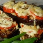 Baklazhanyi s pomidorami i syirom 150x150 Баклажаны с помидорами и сыром