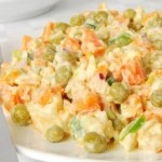 Salat iz myasa ptitsyi s goroshkom 150x150 Салат из мяса птицы с горошком