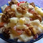 Salat iz svezhih fruktov s orehami i medom 150x150 Салат из свежих фруктов с орехами и медом