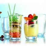 Servirovka desertov v fuzherah 150x150 Сервировка салатов и десертов в картинках