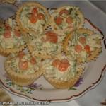 Servirovka salata v korzinochkah iz testa 150x150 Сервировка салатов и десертов в картинках