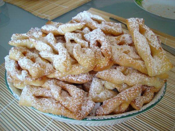 Рецепт печенья хвороста хрустящего с фото