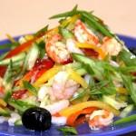 Salat krevetochnyiy s postnyim mayonezom 150x150 Салат креветочный с постным майонезом