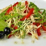 Salat po meksikanski s tsyiplenkom 150x150 Салат по мексикански с цыпленком