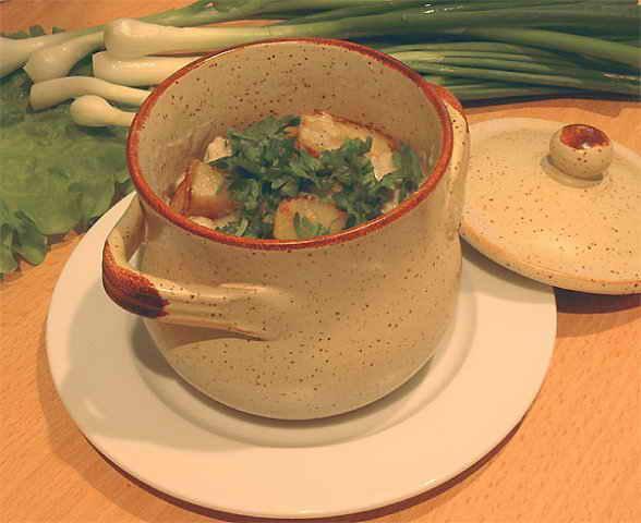 Блюда из трески в горшочках рецепты
