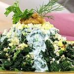 Salat so shpinatom i orehami 150x150 Салат со шпинатом и орехами