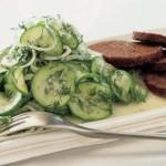 Salat iz svezhih ogurtsov s ukropom 150x150 Салат из свежих огурцов с укропом