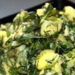 Zakuska s kartofelem i kress salatom 150x150 Закуска с картофелем и кресс салатом