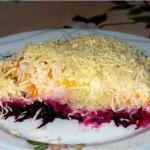 Originalnyiy salat Nevesta 150x150 Оригинальный салат Невеста