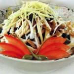 Salat iz gribov i otvarnogo yazyika 150x150 Салат из грибов и отварного языка