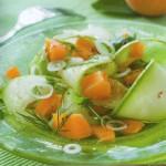Salat s kabachkami i persikami 150x150 Салат с кабачками и персиками