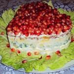 Salat sloenyiy s kuritsey i gribami Upoenie 150x150 Салат слоеный с курицей и грибами Упоение