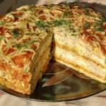 Tort zakusochnyiy iz kabachkov 150x150 Торт закусочный из кабачков