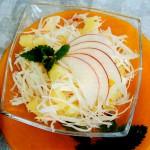 Interesnyiy fruktovo ovoshhnoy salat iz ananasa kapustyi i yabloka 150x150 Интересный фруктово овощной салат из ананаса, капусты и яблока