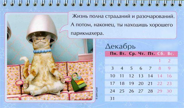 Dekabr kazhdogo goda Праздничный календарь на каждый год (шуточный)