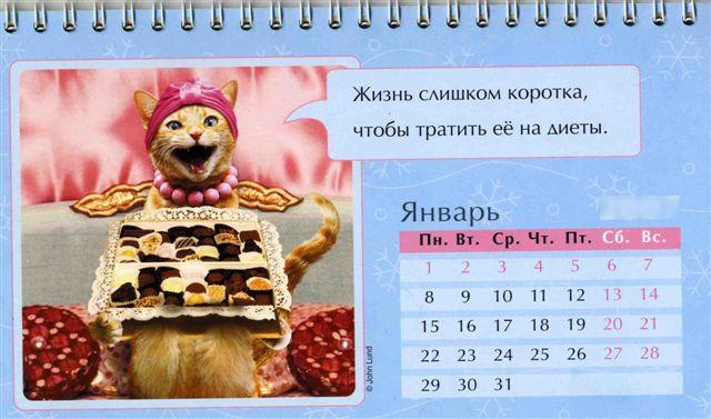 YAnvar kazhdogo goda Праздничный календарь на каждый год (шуточный)