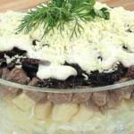 Myasnoy salat s chernoslivom i yablokom 150x150 Мясной салат с черносливом и яблоком