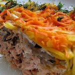 Salat iz file morskoy ryibyi s ovoshhami 150x150 Салат из филе морской рыбы с овощами