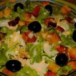 Italyanskiy salat iz hleba s syirom i yaytsom 150x150 Итальянский салат из хлеба с сыром и яйцом