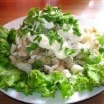 Salat na osnove myasa Semeynyiy ochag 150x150 Салат на основе мяса Семейный очаг