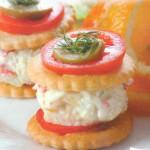 Zakuska s apelsinami i krabovyim myasom 150x150 Закуска с апельсинами и крабовым мясом