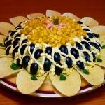 Salat s gribami i kurochkoy Podsolnuh 150x150 Салат с грибами и курочкой Подсолнух