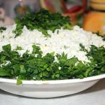 Salatik iz marinovannyih shampinonov i plavlenogo syira 150x150 Салатик из маринованных шампиньонов и плавленого сыра