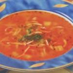 Sup tomatnyiy s kalmarami 150x150 Суп томатный с сухариками и кальмарами