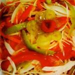 Ovoshhnoy salat iz seldereya pertsa i kapustyi 150x150 Овощной салат из сельдерея, перца и капусты