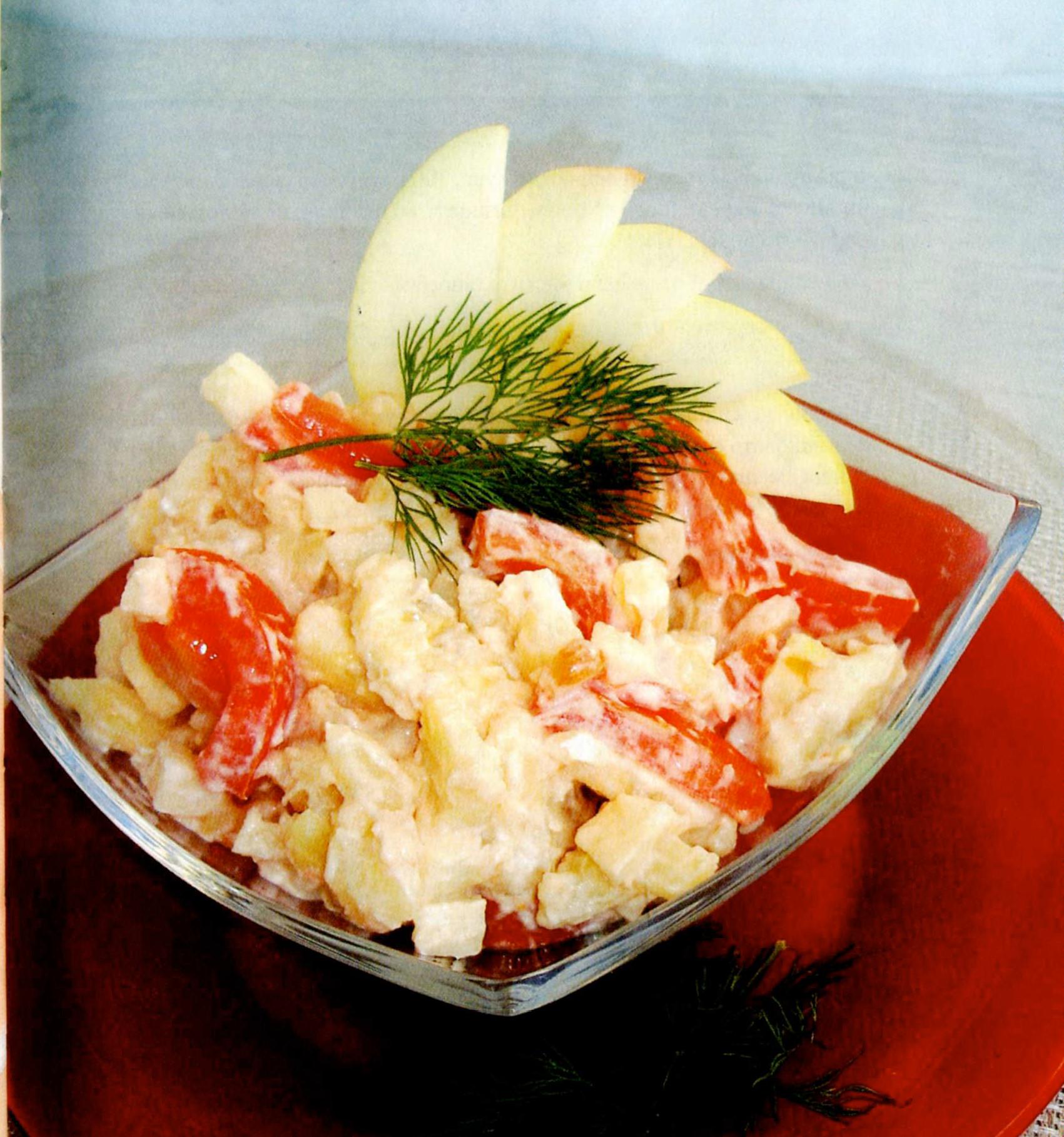Salatik kartofelnyiy po italyanski Салатик Ананасовый рай