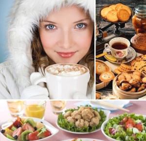 Pitanie zimoy. Zimnee menyu Питание зимой. Зимнее меню