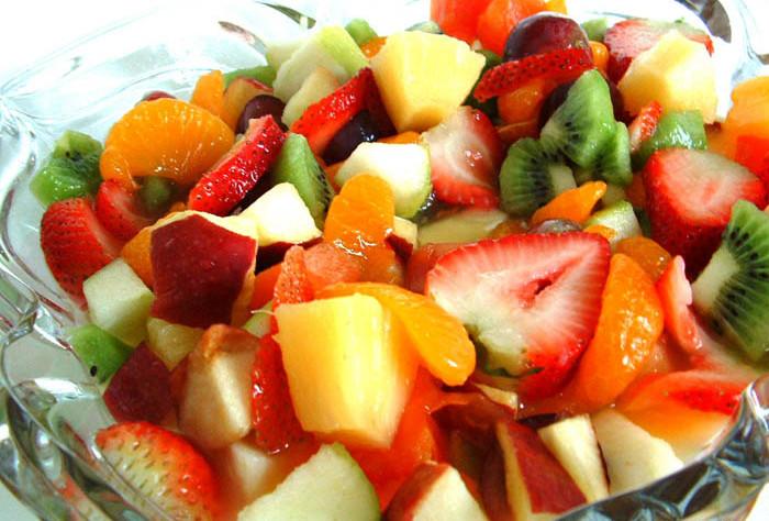 Tropicheskiy salat po evreyski Салат «Фруктовое наслаждение   Лас Вегас»