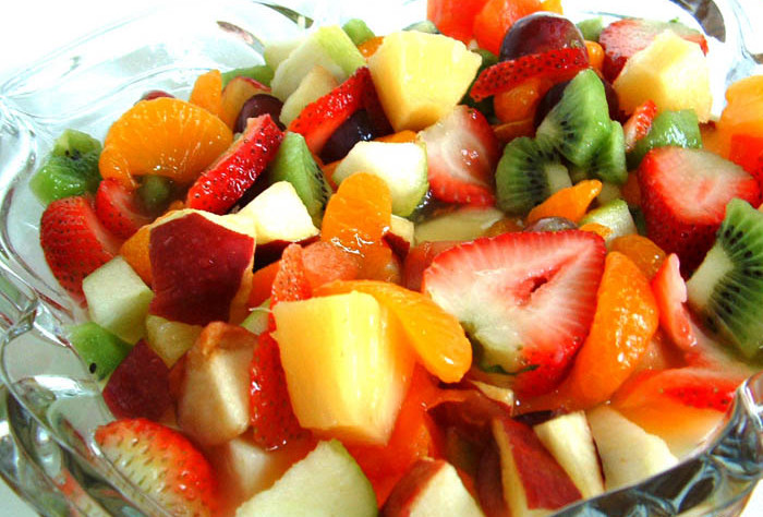 Tropicheskiy salat po evreyski Салат грейпфрутовый