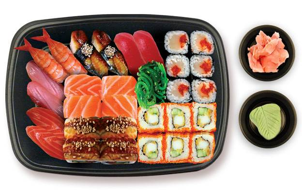 Udivitelnyie sushi i rollyi doma Кулинарный шедевр под названием Суши