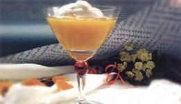 Abrikosovyiy desert po nemetski Новогодний фруктовый десерт