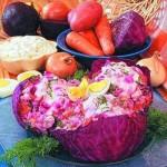 Salat Alyie parusa iz krasnokochannoy kapustyi 150x150 Салат Алые паруса из краснокочанной капусты