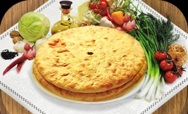 Blyuda osetinskoy natsionalnoy kuhni Блюда грузинской национальной кухни