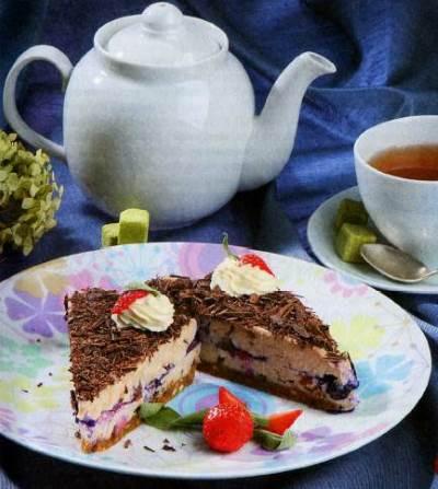 Tort Lesnaya byil bez vyipechki Торт Лесная быль без выпечки