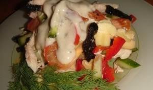 Salat s chernoslivom Novogodniy favorit Салат с черносливом Новогодний фаворит