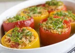 Perets bolgarskiy farshirovannyiy prigotovlennyiy v multivarke Суп из свежей скумбрии с рисом в обычной мультиварке