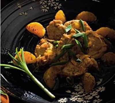 Ryiba v mandarinovom marinade Рыба в мандариновом маринаде