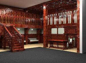 Ispolzovanie gotiki v interere Преимущества изготовления мебели под заказ