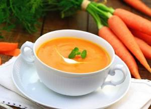 Sup pyure iz pasternaka s morkovyu Суп пюре из пастернака с морковью